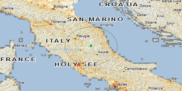 6.0 magnitude earthquake in central Italy brings death and destruction in different countries