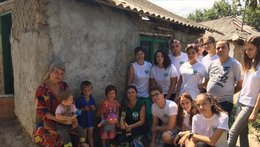 Spanish Volunteers support ADRA Romania's Projects
